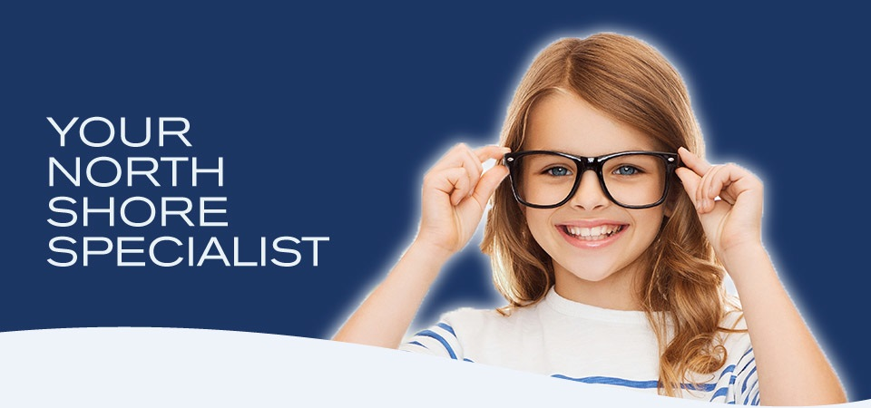 Your North Shore Specialist | Young girl with glasses